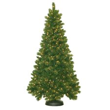 7' Royal Mixed Pine Christmas Tree with 500 Clear Lights