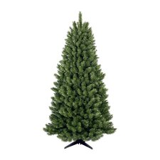 6.5' Half Evergreen Artificial Christmas Tree