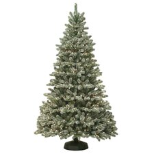 Kincade 7' Green Artificial Christmas Tree with 400 Clear Lights
