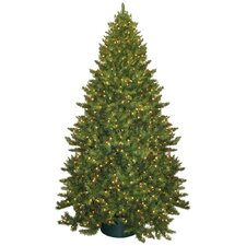 9' Montana Green Artificial Christmas Tree with 950 Clear Lights