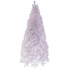 9' White Arctic Fir Artificial Christmas Tree with 1300 Clear Lights