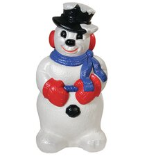 Derby Snowman Figurine