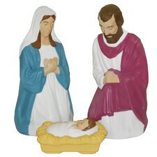 3 Piece Nativity Figurine Set
