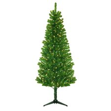 Morrison 6.5' Green Artificial Christmas Tree with 250 Clear Lights