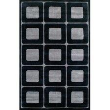 Modern Living Deco Blocks Black/Gray Rug