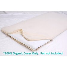 All-in-One Organic Cotton Cradle Mattress Coverlet