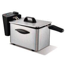Professional 2L Deep Fat Fryer in Brushed Stainless Steel