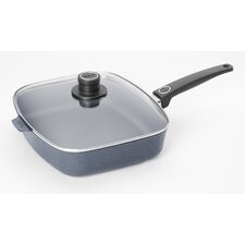 """Diamond Plus 12"""" Non-Stick Frying Pan with Lid"""