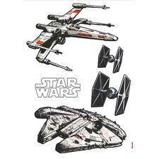 Wandsticker Star Wars Spaceships