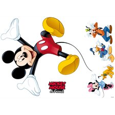 Wandsticker Mickey and Friends