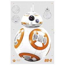 Wandtattoo Star Wars BB-8