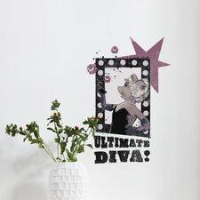 Dekosticker Ultimate Diva