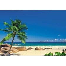 Seychellen Wandgrafik