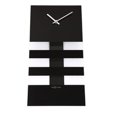 Unek Goods Bold Stripes Wall Clock