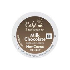 Café Escapes Milk Choc Hot Cocoa K-Cup (Pack of 96)