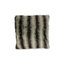 Brengar Faux Fur Throw Pillow