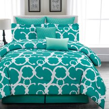 Rhys 7 Piece Comforter Set