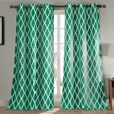 Kittattinny Blackout Grommet Curtain Panel (Set of 2)