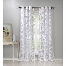 Ivanna Burnout Curtain Panel (Set of 2)