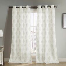 Ellaroma Jacquard Curtain Panel (Set of 2)