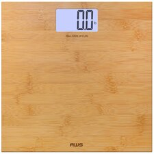 Digital Bamboo LCD Weight Scale