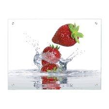 Magnettafel Erdbeere