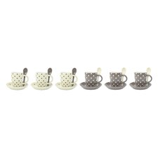 6-tlg. Espressotassen-Set Puntini