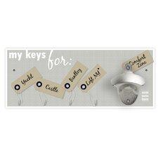 Wandflaschenöffner My Keys For...