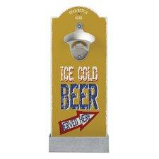 Wandflaschenöffner Ice Cold Beer Served Here