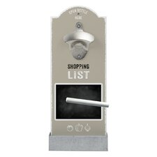 Wandflaschenöffner Shopping List