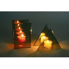 "2-tlg. 10,5cm Teelichthalter ""Reflections"""
