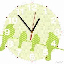 Analoge Wanduhr My Clock Tweet