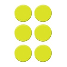 6-tlg. Kartenhalter-Set Dots