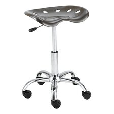 Height Adjustable Workshop Chair with Casters