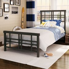 Heritage Metal Panel Bed