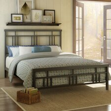 Cottage Slat Panel Bed
