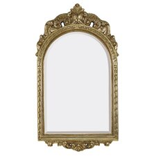 Traditional French Style Beveled Glass Wall Mirror