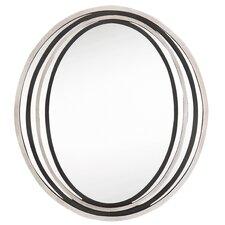 Contemporary Oval Wall Mirror
