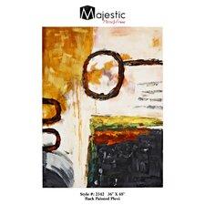 Abstract Rectangular Plexiglass Painting Print