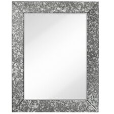 Antique Beveled Wall Mirror