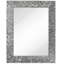 Simple Rectangular Antique Beveled Mirror Panels