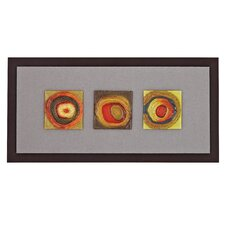 Colorful Abstract Hand Painted Framed Painting Print