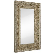 Full Length Beveled Glass Wall Mirror