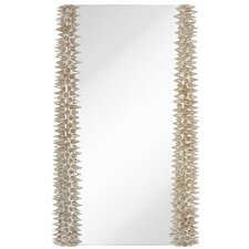 Edgy Rectangle Accent Mirror Detailed with Spikes