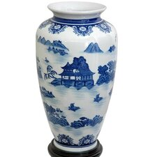 Landscape Tung Chi Vase
