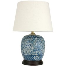 "Classic 20"" H Table Lamp with Empire Shade"