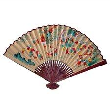 Charming Children Oriental Fan Wall Décor