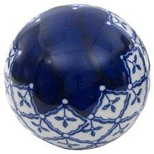 4 Piece Medallions Decorative Ball Sculpture Set