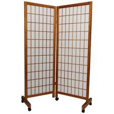 Meditation Folding Room Divider in Honey