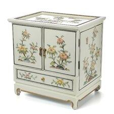 Lacquer White Empress Jewelry Box